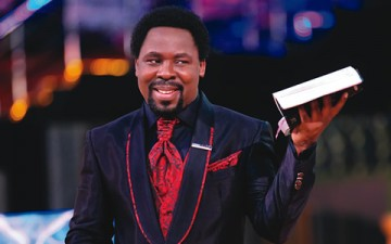 When presidents visit me, I get queried by God -Prophet TB Joshua