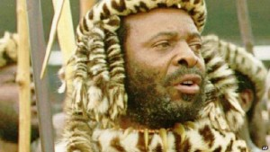Zulu King Goodwill Zwelithini, like other traditional leaders, is widely respected