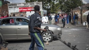 The attacks were blamed on rivalry for jobs - and controversial remarks by Zulu King Goodwill Zwelithini
