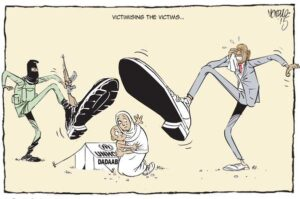 EDITORIAL CARTOON: The anti #refugees sentiments are fuelled by ignorance #Dadaab @UNHCR_Kenya via @ndula_victor