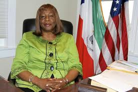 Ambassdaor Angue Ondo says her country is marching on with progress