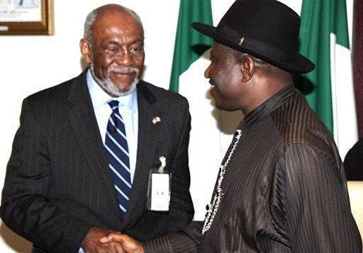Carson and Goodluck Jonathan