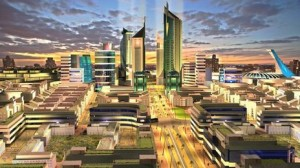 Konza City is an example of the modern country Kenya hopes to project - but will the old forces of corruption sabotage the great leap forward?