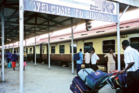 Train station in Mombasa, Kenya: In 2011, an Egyptian company invested in the company operating the railway from Mombasa to Uganda in the largest private equity deal in East Africa that year.
