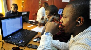 Observers-for-Sierra-Leones-National-Election-Watch-check-computers-in-Freetown-November-16-2012-ahead-of-elections