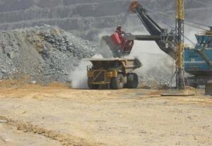Diamonds in the rough: a diamond mine in Jwaneng, Botswana. Photograph by Esther Dyson.