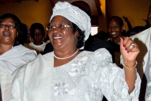Joyce Banda, previously vice-president, became Malawi's new president in April 2012 after the death of her predecessor, Bingu wa Mutharika: Although she had been constitutionally in line to fill the vacancy, some supporters of the late president initially tried to block her, but were stymied by popular agitation and donor pressure.  Photo: AP / Choko Chikondi