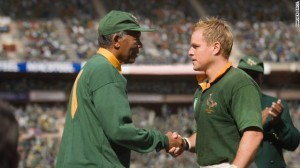 """""""Invictus"""" is an uplifting historical drama about South Africa's bid to win the Rugby World Cup in 1995. The movie was directed by Clint Eastwood and featured Morgan Freeman and Matt Damon."""