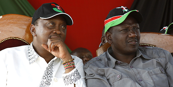 Uhuru-Kenyatta-and-William-Ruto-have-put-past-antagonism-aside-to-form-a-strong-electoral-coalition-for-Kenyas-2013-polls