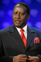 Raila Odinga is a front runner in the up coming elections