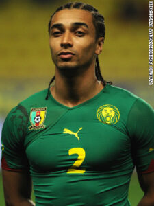 """Assou-Ekotto made his first appearance for Cameroon's """"Indomitable Lions"""" in February 2009 against Guinea. He also represented Cameroon at the 2010 World Cup."""