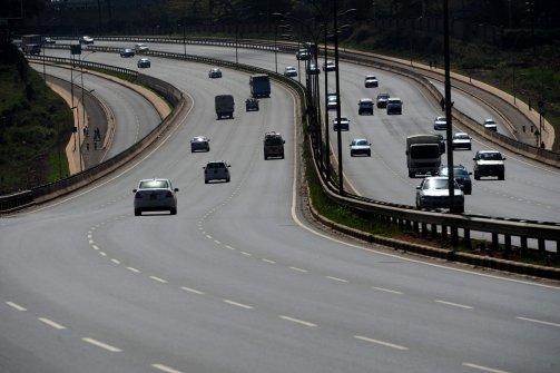 "Vehicles drive along the newly constructed Nairobi-Thika Super Highway by Chinese companies in Nairobi, capital of Kenya, on Sept. 20, 2012. Several major roads within Nairobi have been constructed by Chinese companies this year. The roads are referred to as ""China Roads"" by the local people. (Ding Haitao/Xinhua, via Landov )"