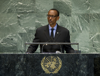 Paul Kagame: survived his annus horribilis in 2010 and looks to be preparing to reliquish power under his own terms.
