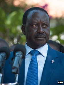 Raila Odinga is challenging the result