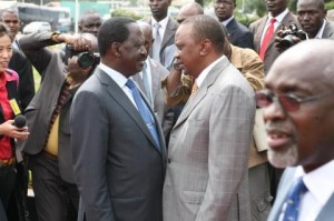 Raila and Odinga