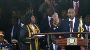 In his inaugural address, Mr Kenyatta said he would govern for all Kenyans