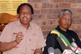 With Mandela