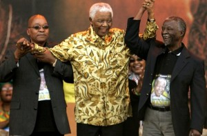 Zuma,Mandela and Mbeki