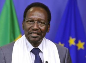 Mali president in Brussels