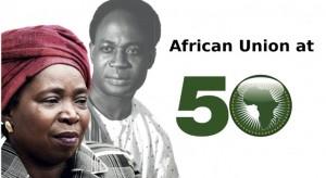 Nkosazana Dlamini Zuma & Kwame Nkrumah © Photos - MARLENE AWAAD/IP3/AKG-IMAGES/ARCHIVES JA & UN/AP/REUTERS  Read the original article on Theafricareport.com : African Unity at 50 years