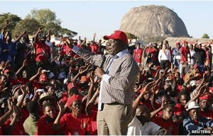 Morgan Tsvangirai has promised to fix the economy if elected