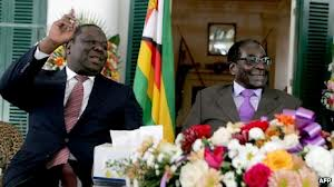 Mugabe and Tsvangarai