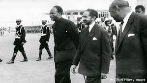 Nkrumah and Haile Selassie