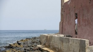 One of the most poignant images of Barack Obama during his Africa trip was him standing alone at the door of no return on Senegal's slave island of Goree.