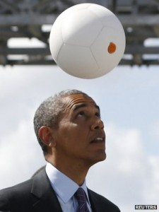 Will Africa prefer to play ball with Mr Obama or China?