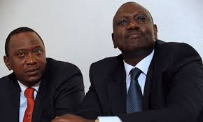 President Kenyatta and Vice President Ruto.