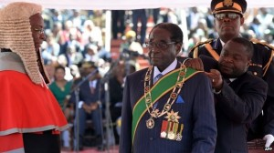 This will be President Mugabe's sixth term as Zimbabwe president and seventh term as leader, as he was first elected as prime minister in 1980.