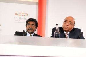 Jay  Naidoo and Mo Ibrahim