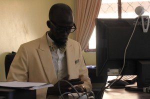 Mabior Garang thinks it is hard to remain indifferent when things are not going right