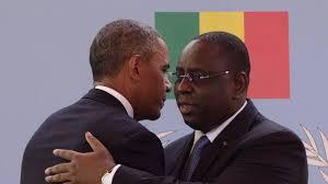 President Macky Sall and President Obama