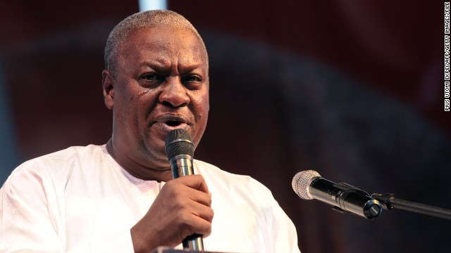 """Ghana's Supreme Court declared President John Dramani Mahama (pictured) """"validly elected."""""""