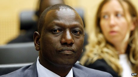 William Ruto denies fuelling violence during the 2007 election