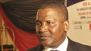 "Aliko Dangote: ""For the first time in our lifetime we'll see Nigeria exporting petroleum product"""