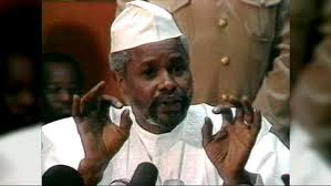 Haunted by his crimes ,former Chadian President Hissen Habre
