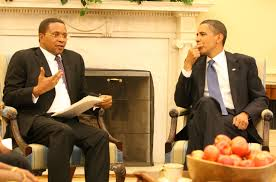 President Kikwete of Tanzania and US President Barack Obama