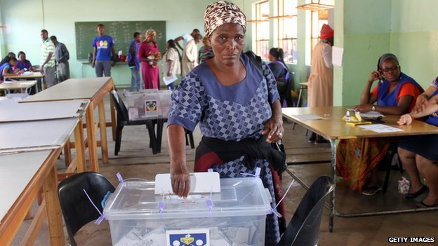 Swaziland recently held elections without political parties