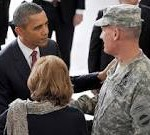 President Obama and General Rodriguez