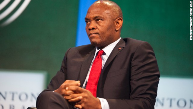 Nigerian businessman Tony Elumelu is the founder and chairman of Nigeria-based investment company Heirs Holdings.