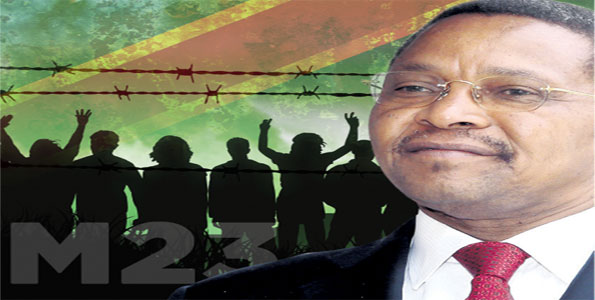 Basking in the glow of one of his country's best diplomatic weeks in recent times Kikwete takes on Museveni, Kagame and Uhuru over Coalition of the Willing. TEA Graphic
