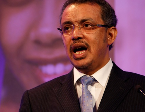 Dr Tewodros Adhanom, Ethiopian Foreign Minister