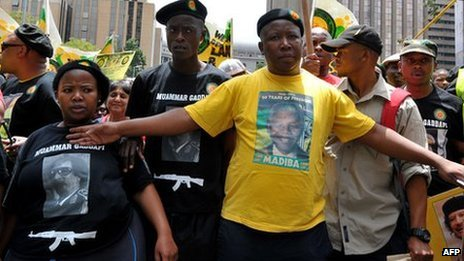 Julius Malema was once one of President Jacob Zuma's closest allies