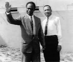 Nkrumah with Dr King