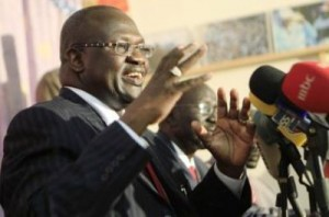South Sudan's former vice-president, Riek Machar (Reuters)