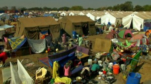 Anne Soy reports: ''Many here are too frightened to venture out of the UN camp in Juba''