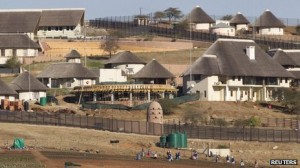 The improvements at Nkandla included a swimming pool and cattle enclosure