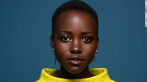"""Kenyan actress Lupita Nyong'o has become one of Hollywood's hottest """"It"""" girls."""